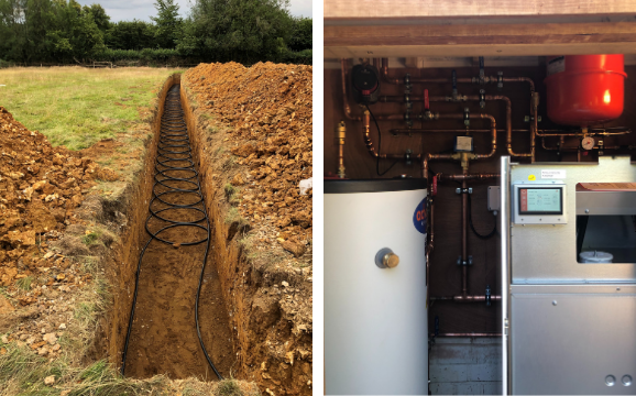 Ground Source Heat Pump installed by Pure Green Energy