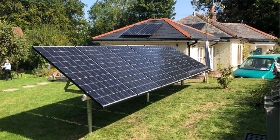 Solar PV installed by Pure Green Energy